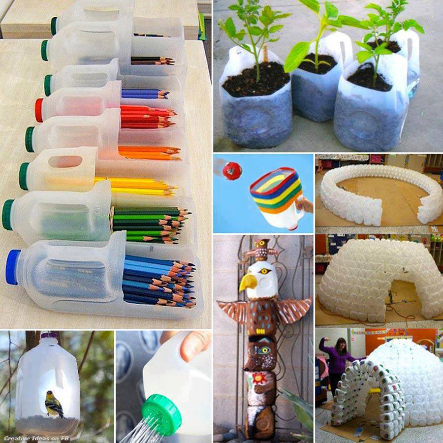 art craft use of waste bottle