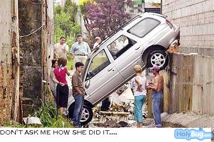 7207d1253208921 funny images a woman drives into a ditch Funny Images gallery funny images