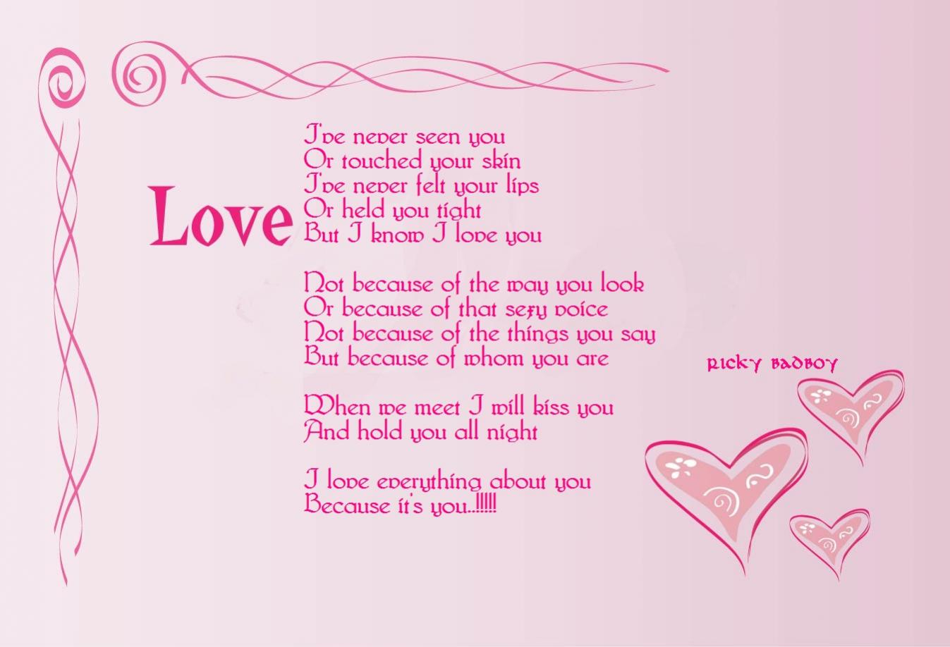 I love everything about you baby quotes