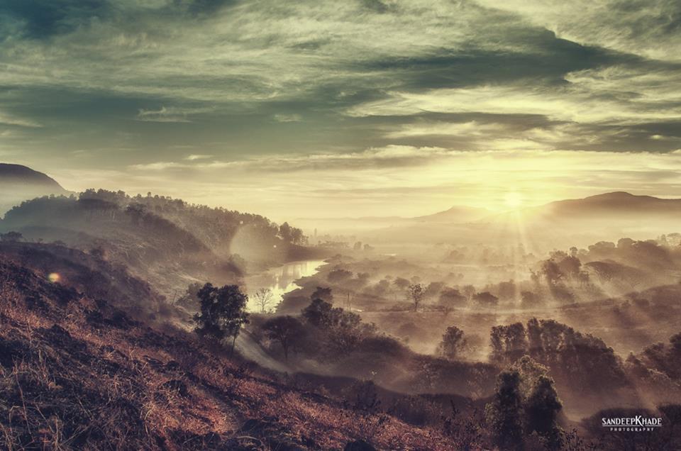 Name:  Sunrise at Panshet Dam, Pune.jpg Views: 1667 Size:  78.1 KB