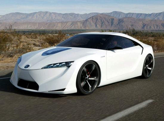 Toyota New Ft Hs Concept Supercar