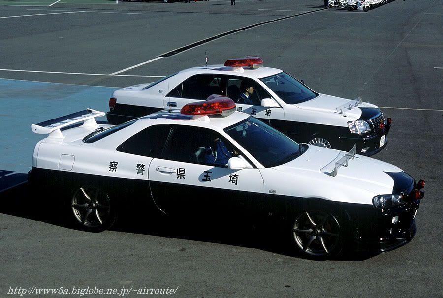 Japanese Police Cars