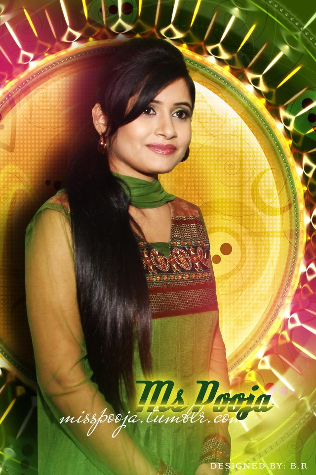 Miss Pooja In Green