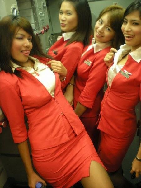 Red Hot Air Hostess-6505