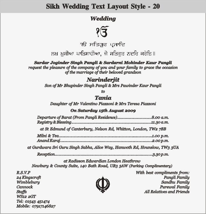 Wedding card format mersnoforum help please making traditional punjabi wedding card page 2 stopboris Image collections