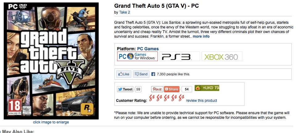 Gta 5 release date pc in Australia