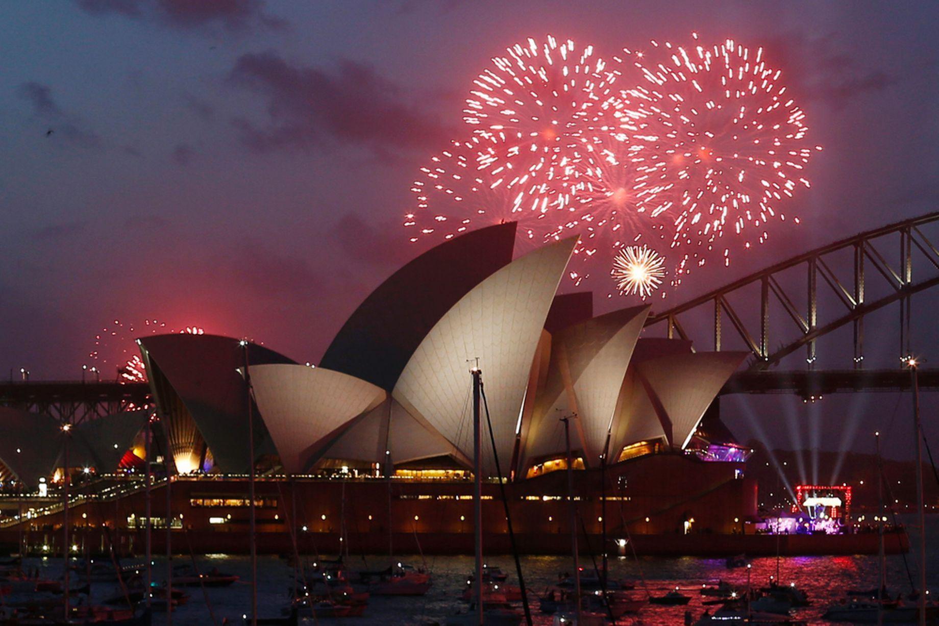 New Year's Eve Celebrations at Australia 2015