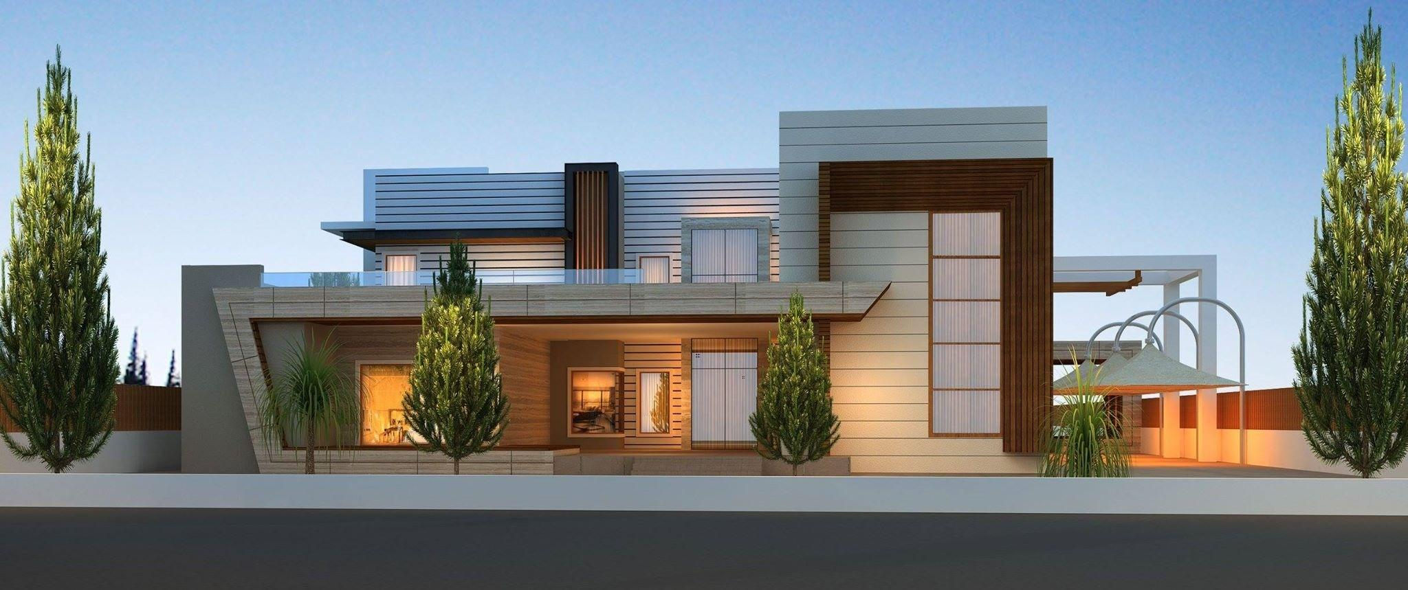 Modern House Designs In Punjab